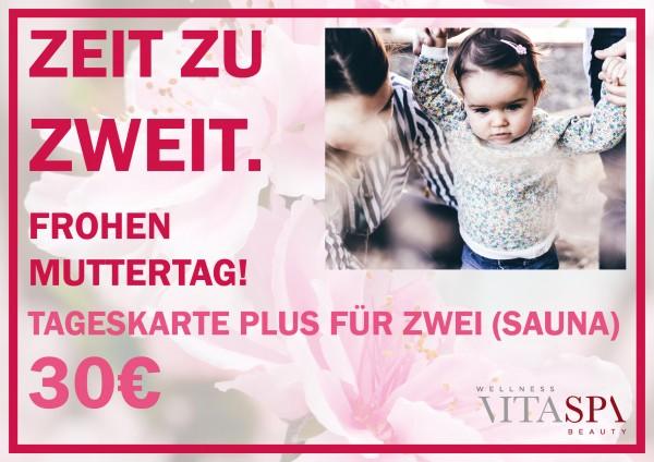 """Muttertags-Angebot: """"Zeit zu zweit"""""""