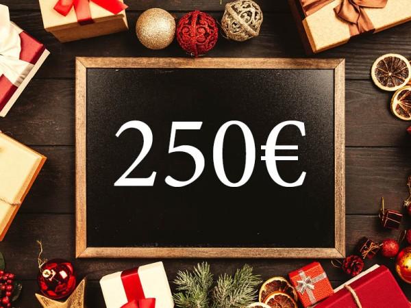 250 € Wertgutschein