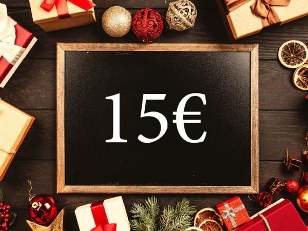15 € Wertgutschein