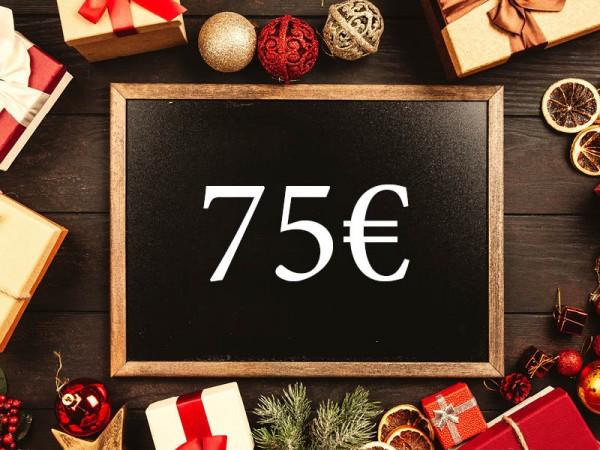 75 € Wertgutschein