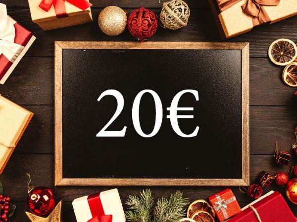 20 € Wertgutschein