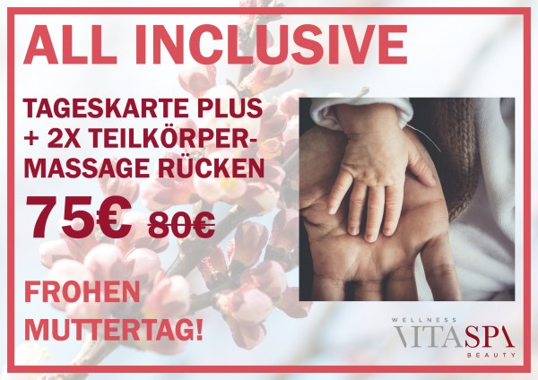 """Muttertags-Angebot: """"ALL INCLUSIVE"""""""